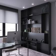 home office for 2. Home Office Dark Moody Bachelor Pad Design For 2 Single Bedroom L Shaped Examples Includes Floor Plans Interior A