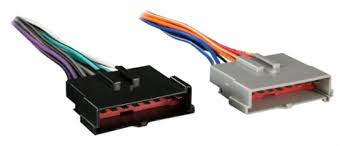 metra radio wire harness adapter for most ford, lincoln, mercury and Car Stereo Wiring Colors at Metra Car Stereo Wire Harness