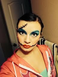 this years makeup sally nightmare before