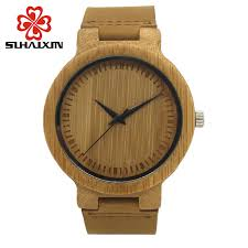 online get cheap antique mens watch aliexpress com alibaba group hot sihaixin antique wood watches men quartz clock leather strap sandalwood luxury fashion criativa mens watch