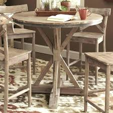 36 round kitchen table exciting round kitchen table and chairs largo rustic casual counter height pedestal