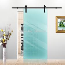 glass sliding barn doors handballtunisie frosted glass sliding barn door