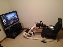 picture of pvc racing simulator pod