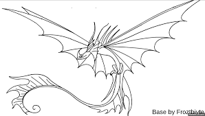 How To Train Your Dragon Coloring Pages Skrill Murderthestout