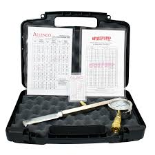 Allenco Flow Testing Pitot Kit With Case Gauge Charts