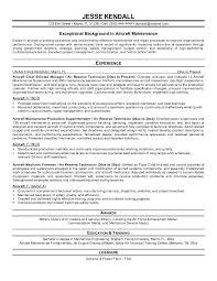 Sample Resume For Maintenance Engineer Resume Format For Maintenance