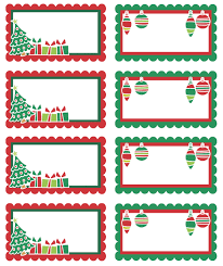 Christmas Tag Template You Can Edit This Template Great Free Printable Adorable