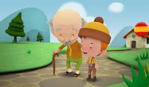 Image result for imagen de anciana conversando con joven