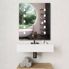 battery operated ip44 light up mirror