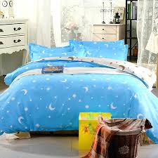 moon and stars bedding superfine polyester cartoon blue moon and stars bedding sets home textiles full moon and stars bedding