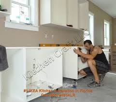 Installing Cabinets In Kitchen Kitchen Kitchen Cabinets Installation House Exteriors