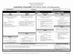 Lesson Preparation Template Inspirational Daily Lesson Plan Template ...
