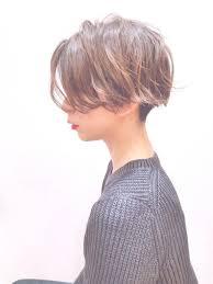 こんなに違うのショートは襟足の長さで雰囲気が変わる Hair Line