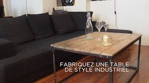 table industrielle. table industrielle