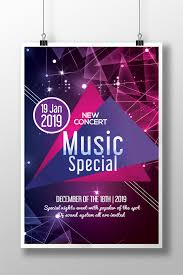 Free Music Poster Templates Music Band Concert Poster Templates Template Psd Free