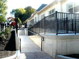 concrete wheelchair ramp construction services inc commercial see all pictures ada standards