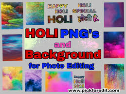 Best 2020 Holi Png Holi Background Images For Picsart