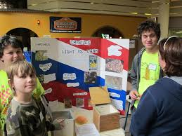children show science projects albert lea tribune fifth grader