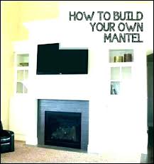 faux fireplace surround mantel home depot floating mantels surrounds s for
