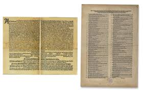 indulgences and the ninety five theses word and image martin  in 1515 a new papal indulgence shown on the left was issued in exchange for donations to fund the construction of st peter s basilica in rome