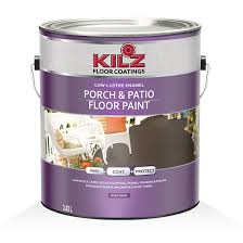 kilz porch patio floor paint