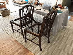 dining room furniture with chalk paint