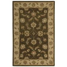 nourison india house mushroom indoor handcrafted area rug common 3 x 5 actual