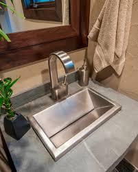 stainless steel self custom sink 10 x16 x5