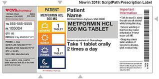 Components Of Patient Medication Chart Cvs Makes Rx Labels Clear As Day Path To Purchase Iq