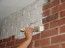 painting brick whiteAnnie Sloan Paint Gives Brick an Update  Sew a Fine Seam