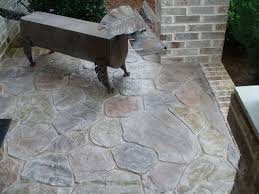 patio awning on outdoor patio furniture with new concrete patio