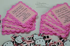 hello kitty jingvitations hello kitty zebra pink birthday invitations