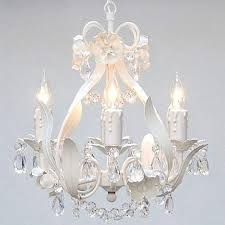 shabby chic lighting fixtures. White Wrought Iron Floral Chandelier Crystal Flower Chandeliers Lighting  H15 X W11 - Perfect For Kids\u0027 And Girls Bedrooms! Shabby Chic Lighting Fixtures R
