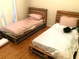 diy queen bed frame with storage queen pallet bed with storage co pertaining to frame instructions