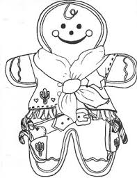 Western Style Gingerbread Men Coloring Sheet By Coley Tpt