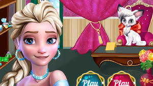 fynsy s spa elsa make up game frozen games kids