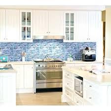 white glass backsplash tile blue glass blue glass stone mosaic wall tiles gray marble tile kitchen