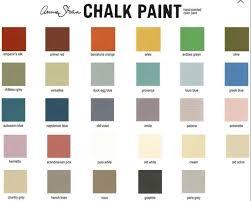 Annie Sloan Chalk Paint Color Chart Chalk Paint By Annie Sloan In 2019 Annie Sloan Chalk