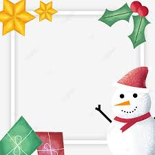 design christmas frame png and vector