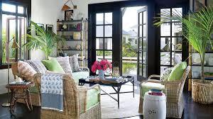 Gorgeous farmhouse living room decor design ideas Cozy Modern Tropical Treat Living Room 48 Beautiful Beachy Living Rooms Coastal Living