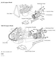 1996 toyota corolla serpentine belt routing and timing belt diagrams serpentine and timing belt diagrams