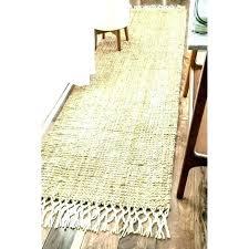 ikea runner rug jute handmade chunky wool tassel natural persian floor rugs uk