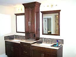 bathroom vanity storage. Bathroom Countertop Storage Tower Vanity Dazzling Design Ideas Cabinet Good Vanities With Towers Double