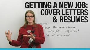 American Resume Cover Letters Find A New Job In North America Cover Letter Resume Advice