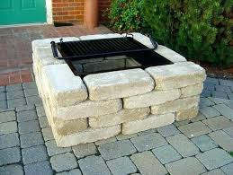 sublime how to build a fire pit patio with pavers how to build a fire pit