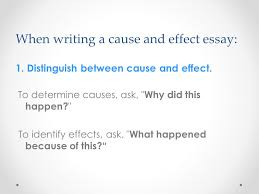 cause effect expository essay introduction the cause effect  introduction the cause effect expository essay explains why or how some event happened and