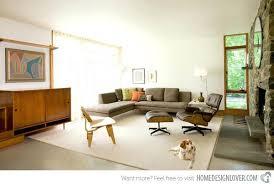 mid century living room stylish rooms rug