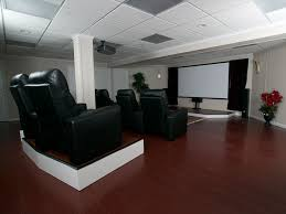 basement remodelers. A Home Theater System Installed In Finished Basement. Basement Remodelers
