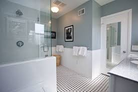 bathroom floor tile ideas traditional. Unique Bathroom Bathroom Floor Tile Ideas Traditional Dark Brown Decoration Vanity Lights  White Wooden Toilet Black Rectangle Tall Frame Mirror Inside O