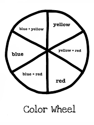 Colors are organized in a circle so you can visualize how they relate. Pin By Megan Wallace On Art Ed Primary And Secondary Colors Color Wheel Art Color Lessons